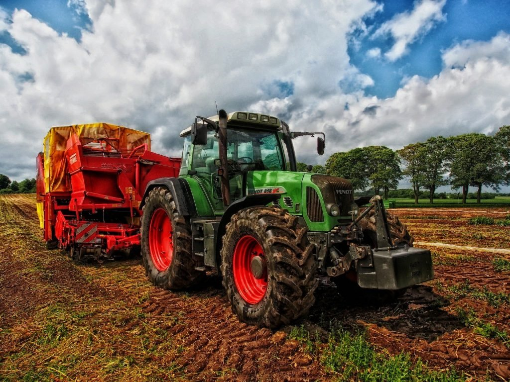 farm equipment; tractor